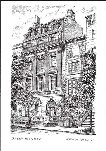 The Lanier Mansion Print