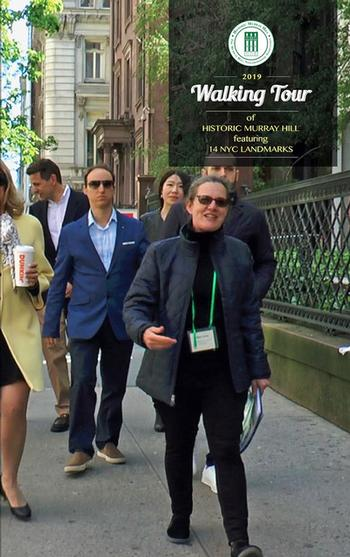 DVD - Walking Tour of Historic Murray Hill, 2019