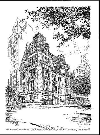 De Lamar Mansion Print