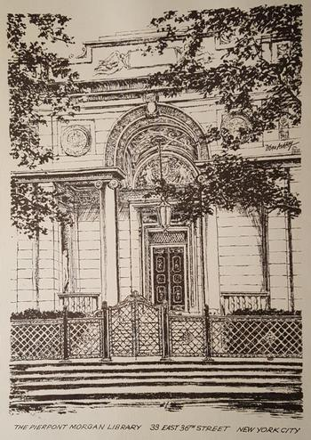 The Pierpont Morgan Library Print II