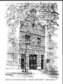 Brick Carriage House Print