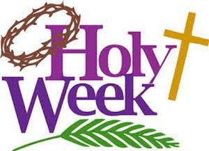 Holy Week at the Church of the Good Shepherd   April 9-16