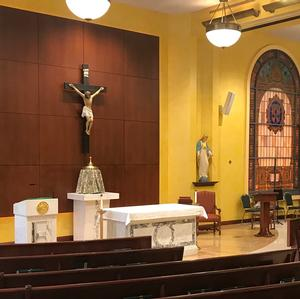 Chapel of the Sacred Hearts of Jesus and Mary Holy Week Services - April 14 - 21