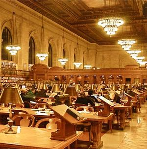 Private Tour at the New York Public Library and Reception