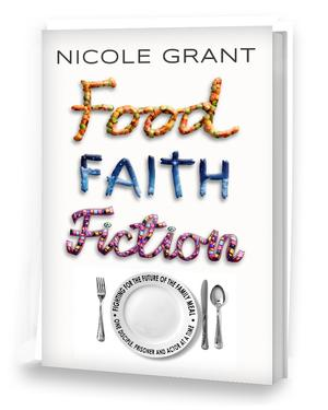 Nicole Grant speaks on her book, 'Food, Faith, Fiction: Fighting For The Future Of The Family Meal...'
