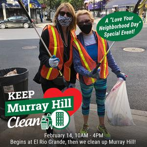 Love Your Neighborhood Day + Keep Murray Hill Clean