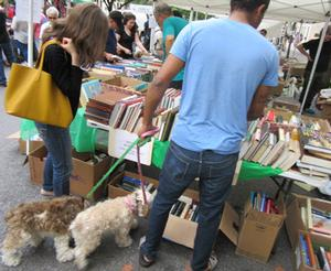 Book Pickup for Book Donations to the Murray Hill Street Festival