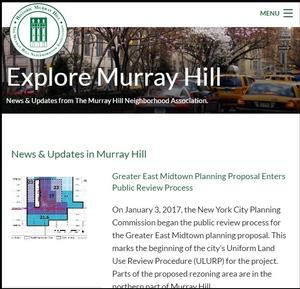 MHNA Website to Be Included in Columbia University's Avery Library Historic Preservation and Urban Planning Web Archive