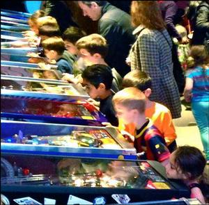 Modern Pinball NYC - Not Just Entertainment!