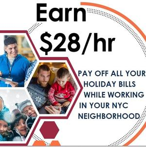 Special for NYC - Earn $28/hr as a Census Worker