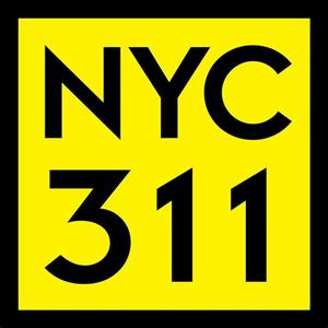 Call 311 for information about city services or if you want to report an issue