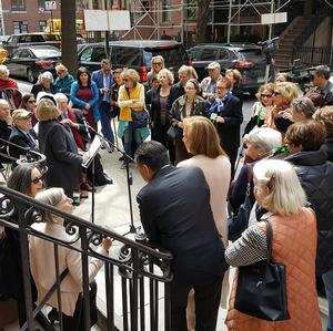 Three New Cultural Medallions Honoring Distinguished Murray Hill Residents Are Unveiled