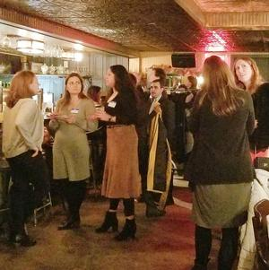 Young Professionals Met on December 17 for a Merry Murray Hill Event!