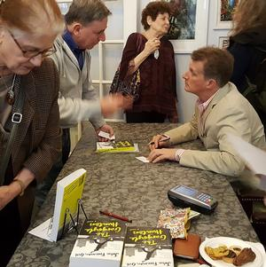 Book Talk and Signing in Murray Hill—John Freeman Gill's 'The Gargoyle Hunters'